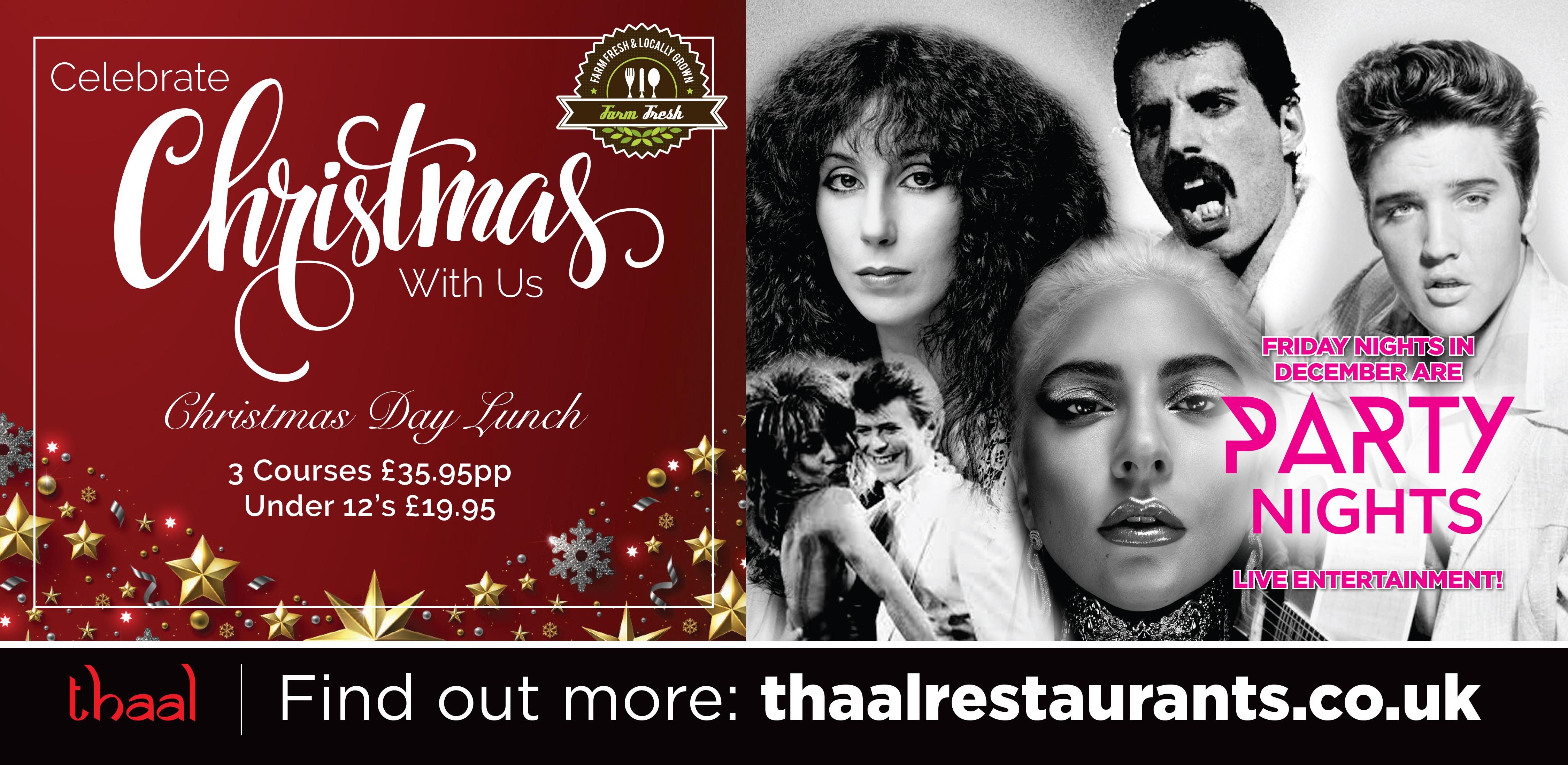 Thaal Christmas Billboard